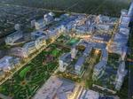 Dallas Midtown's 20-acre focal point begins to take shape