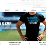 Helping the Carolina Panthers become a winner in e-commerce