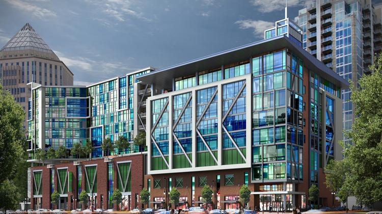 10 Tryon, Between Ninth And 10th Streets Off North Tryon Street, Will  Include Up