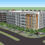 South of the Wiehle Avenue Metro station, the development plans come in waves