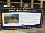 Work in Lower Sproul Plaza is set to finish in 2015.