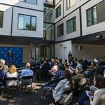 University christens a new mixed-use project