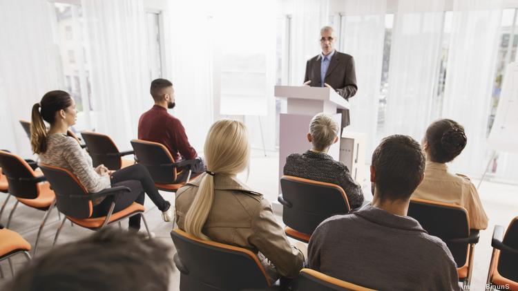 How public speaking can lead to career success - The Business Journals