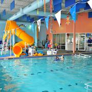 Love to Swim and Tumble School's Huebner Road pool offers swimming lessons and water safety instruction.