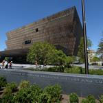 Watch the new African-American museum's evolution — in 106 seconds