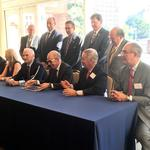 Hospitals, insurers sign collaboration pact for sharing medical records