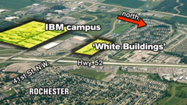 Rochester Campus Map.Mayo Buys Former Ibm White Buildings In Rochester Minneapolis