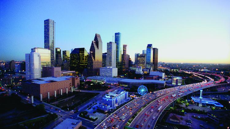 About 2.2 million square feet of new commercial construction is slated to commence this year, adding to Houston's skyline.
