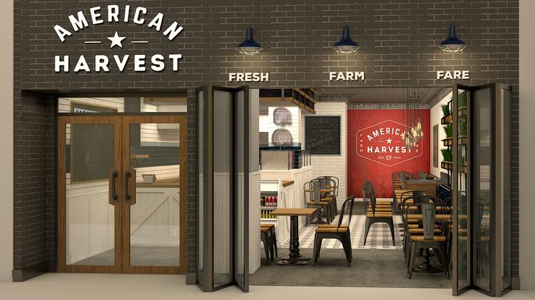 A Rendering Of American Harvest Opening At Brickell City Centre On Nov 3