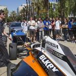 Indy 500 winners visit SJSU to talk about STEAM <strong>power</strong>