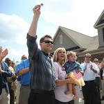 Veteran family treated to new Fort Mill home with furniture, art (PHOTOS)