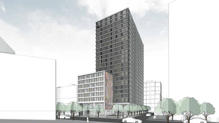 As San Francisco S Soma Booms New 480 Room Hotel Is Proposed