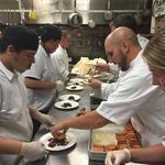 Chefs prepare special dishes to raise money for '<strong>Gold</strong> in September': Slideshow