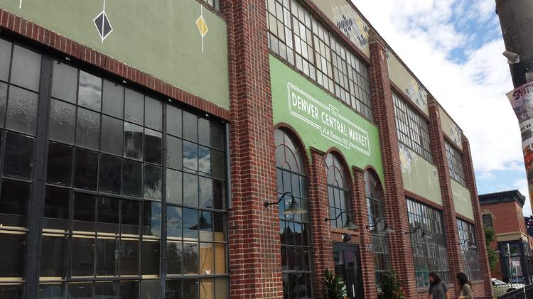 Denver Central Market, which opens on Sept. 23, features 11 food retailers selling both take-home groceries and meals and snacks that can be enjoyed at the space on 2669 Larimer Street.