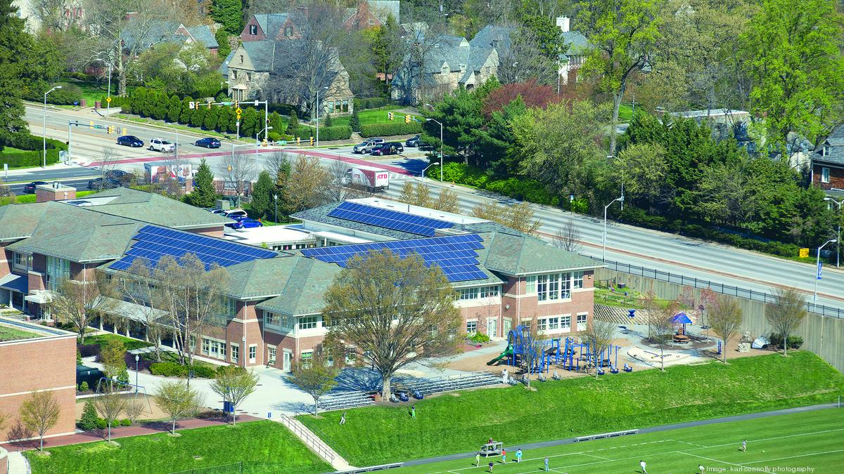 Gilman Uses Solar Panels To Teach A Green Lifestyle