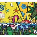 Bank launches <strong>Romero</strong> <strong>Britto</strong>-branded cards