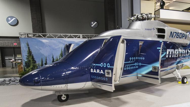 "The Sikorsky Autonomy Research Aircraft (SARA) is a commercial S-76 modified with automated capabilities. As Lockheed's chief technology officer Keoki Jackson said, the SARA helicopter""""automates a lot of the 'grunt work,'"" like landing so pilots can ""focus on the higher-level missions and the broader situational awareness."""