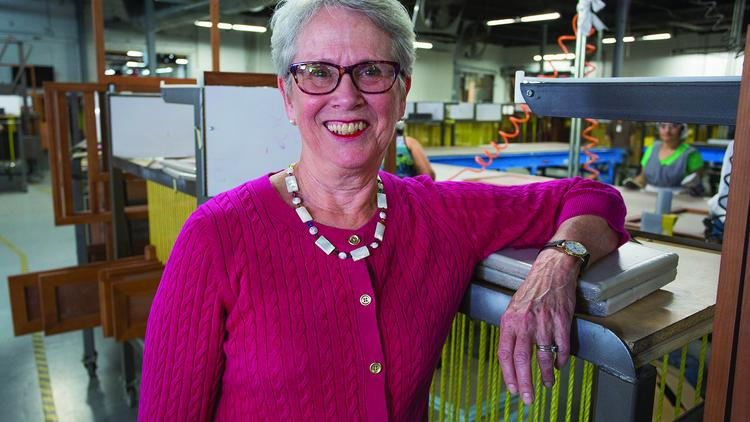 Delicieux Mollie Marsh Brugh Is CEO Of Marsh Furniture Co. In High Point.