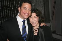 Jimmy Kimmel and Lily Tomlin