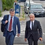Kaloyeros pleads not guilty during Albany court appearance