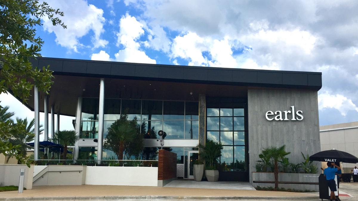 Earls Kitchen Bar Debuts At Mall Millenia Video Orlando Business Journal