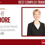 HBJ Best Corporate Counsel 2016: Best Complex Transaction