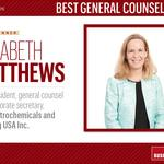 HBJ Best Corporate Counsel 2016: Best General Counsel (small)