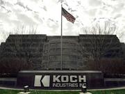 Wichita-based Koch Industries says it has more than 100,000 employees, a presence in 60 countries and about 9,500 approved patents.