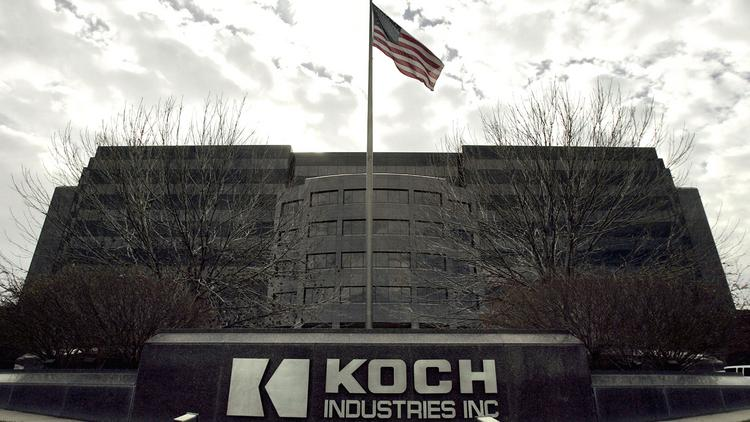 A national TV ad will begin to air Wednesday touting Koch Industries' American heritage and job creation.
