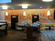 The Bistro Restaurant &  Bar was significantly renovated with new decor and seating.