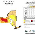 Little change in drought conditions across Upstate New York