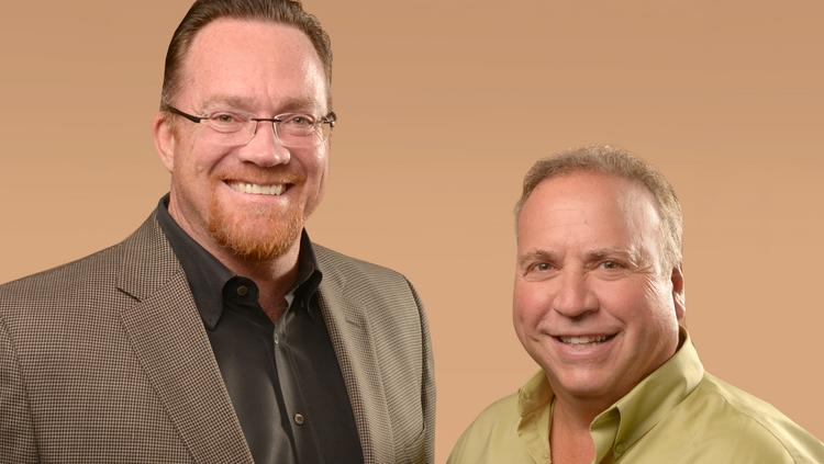 Jay Carroll (left) and Tom Rothstein of SeQuel Response