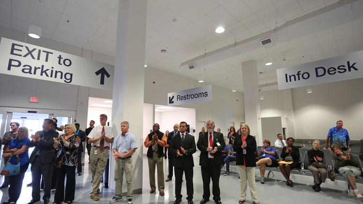 The Concord Regional Airport's 32,000 square feet terminal was dedicated on Sept. 29.