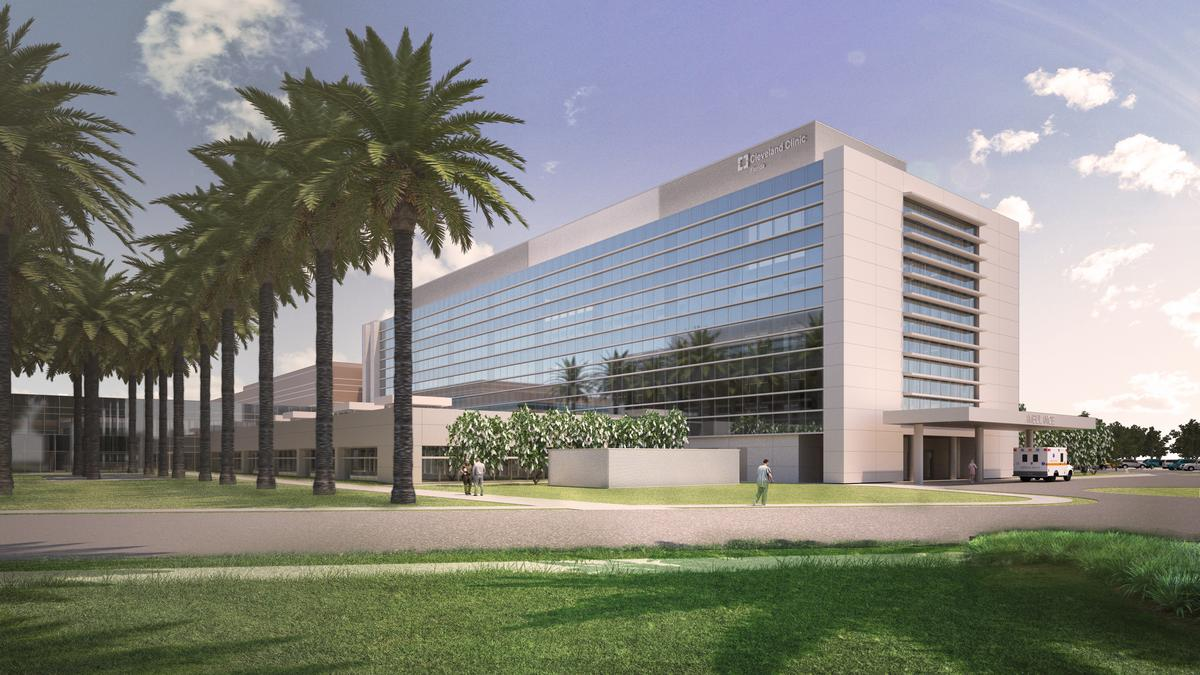 cleveland clinic florida breaks ground on major expansion of weston campus south florida business journal