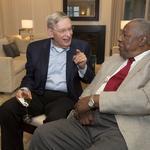Bud Selig, Bob Uecker, Mark Attanasio raise money for Hank Aaron's foundation: Slideshow