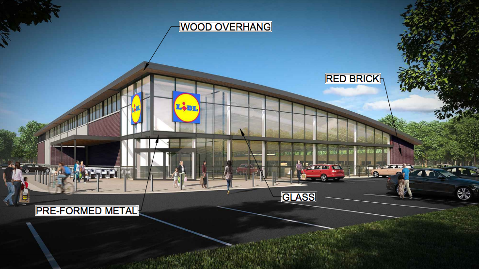 lidl submits plans for chantilly store eyes more in. Black Bedroom Furniture Sets. Home Design Ideas