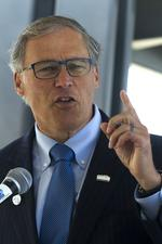 Inslee joins in West Coast governors' climate change accord