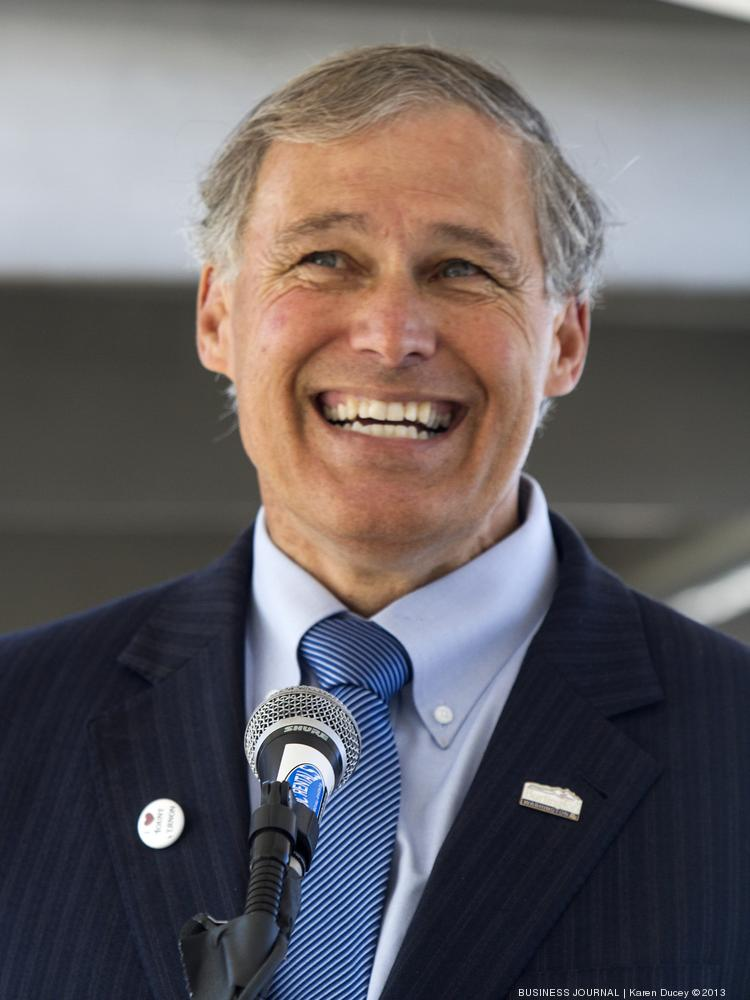 """Gov. Jay Inslee said in an April 4 letter that the state needs to look at issues of drone data collection in a """"transparent and thoughtful manner."""""""
