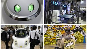 Robots, drones and virtual reality, oh my, at Japan's version of Consumer Electronics Show