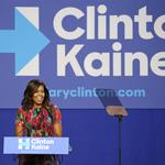 POLITICS: 3 takeaways from <strong>Michelle</strong> <strong>Obama</strong>'s latest stop on the campaign trail