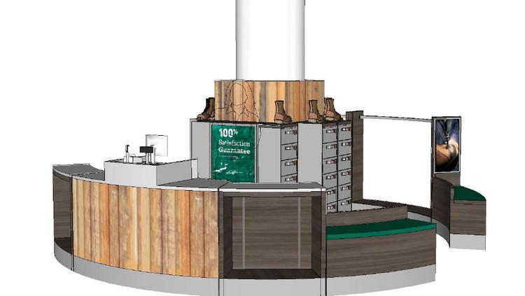 The Prudential Center mall will be home to an L.L. Bean kiosk in November.