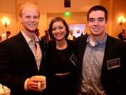 Mason Heller, Erica England and Brian Broe all with GuildQuality Inc.