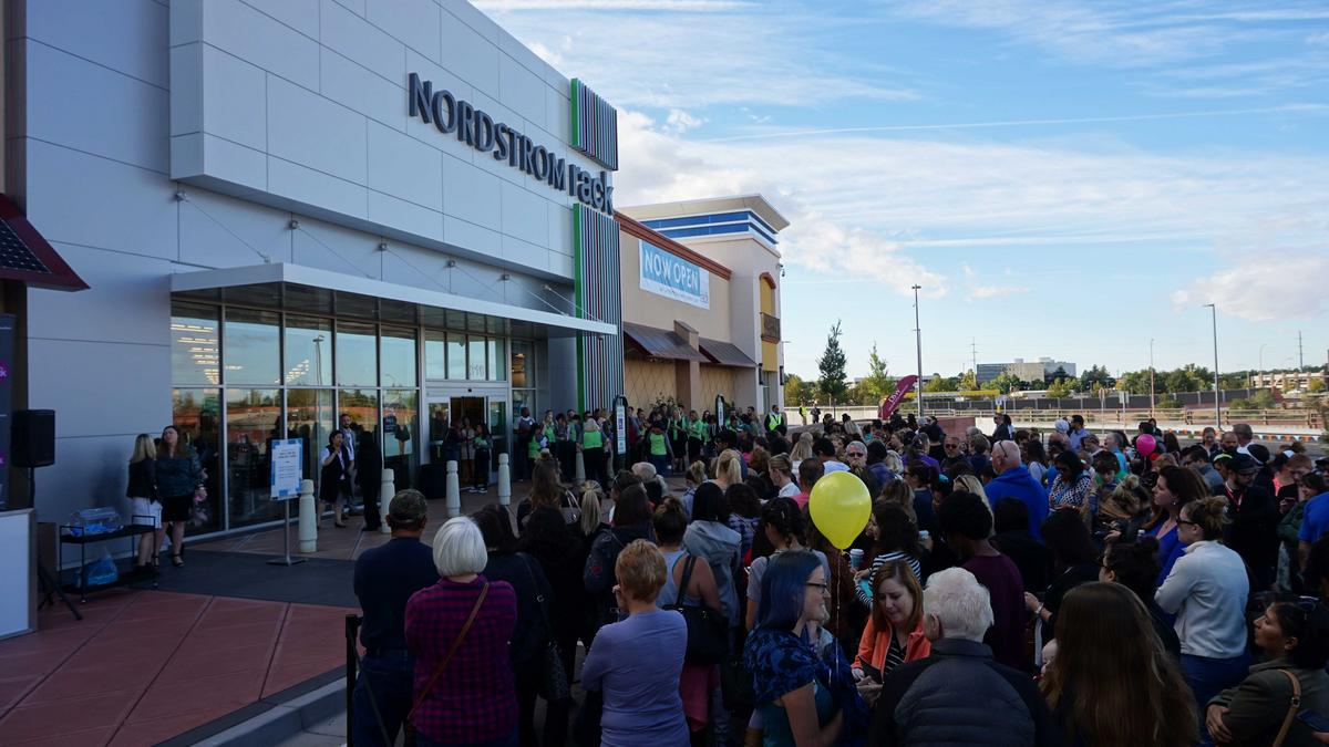Nordstrom Rack Opens To Big Crowds At Winrock Town Center