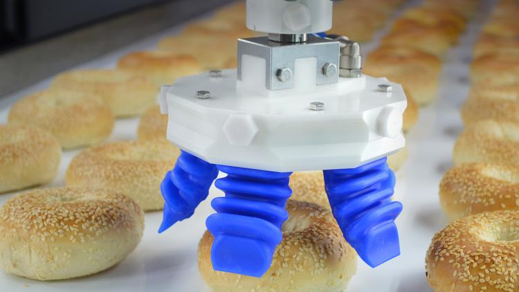 Soft Robotics, a 3-year-old industrial robotics company in Cambridge focused on manufacturing, food and bakery automation, hopes the trip will help bring his company's technology to new customers in China and throughout the world.