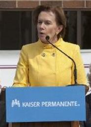 Donna Lynne, president of Kaiser Foundation Health Plan of Colorado (file).