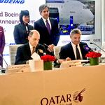 Boeing lands huge deal with Qatar Airways for 40 wide-body 787 Dreamliner and 777 jets