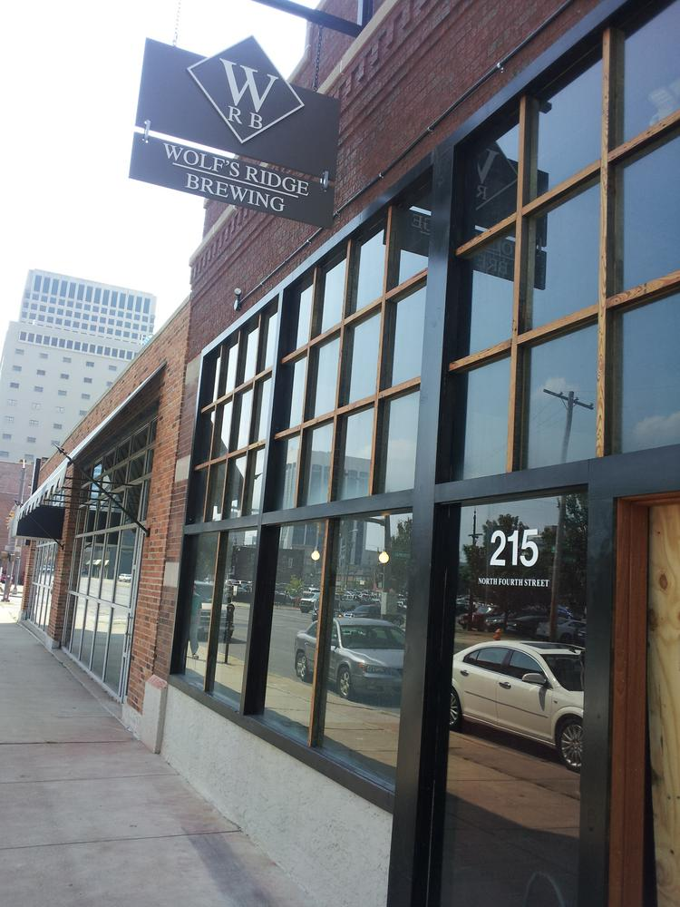 Wolf's Ridge Brewing is set to open Sept. 27 at 215 N. Fourth St.