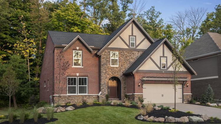 The Blake model is one of Fischer Homes' masterpiece collection homes that could be built in Abington.