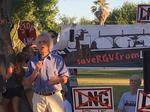Battle over proposed LNG terminal waged at air quality permit hearing