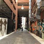 Downtown turning alley into collaborative 'artery'